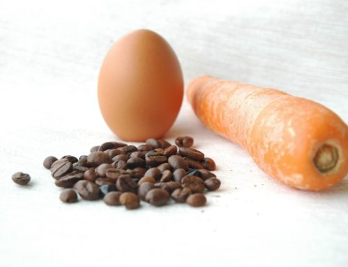 A Carrot, An Egg, or a Coffee Bean?